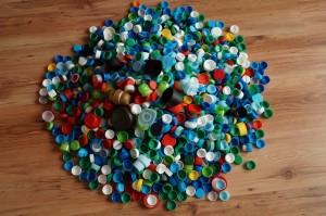 Zbiórka plastikowych nakrętek