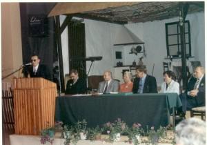 Podczas zjazdu absolwentów, 1999 r.