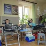 Akcja honorowego krwiodawstwa w naszej szkole, styczeń 2014 r.