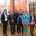 Udział w debacie społecznej w Pińczowie, 2014