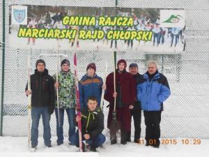 XLVII Ogólnopolski i XXIII Międzynarodowy Narciarski Rajd Chłopski Rajcza – Zwardoń – Skalité – Oščadnica – 2015 r. 30 stycznia – 1 luty  2015 r .