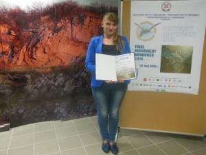 Aleksandra Lichwała z klasy II TR laureatką Finału Regionalnego