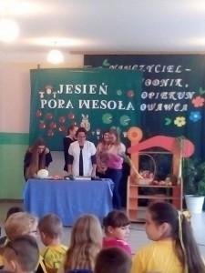 Prelekcja w Szkole Podstawowej