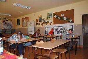 """Konkurs wiedzy """"Żołnierze Wyklęci – Bohaterowie Niezłomni"""" 2017"""