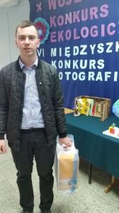 Absolwent Paweł Doroz zdobywcą Grand Prix w konkursie fotograficznym.