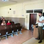 Spotkanie z pracownikiem RCKiK - 13.06.17r. w naszej szkole.
