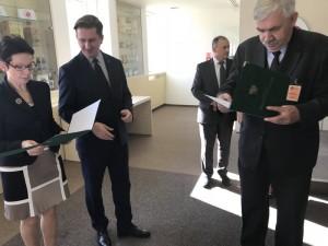 Dyrektor Trzepatowski wyróżniony przez ministra
