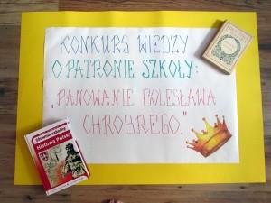 Konkurs wiedzy o Bolesławie Chrobrym