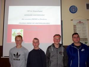 Konkurs zorganizowany przez bibliotekę i pedagoga, 2018 r.