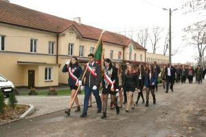 Uroczystość z okazji 100–lecia Odzyskania przez Polskę Niepodległości oraz odsłonięcie tablicy pamiątkowej boiska wielofunkcyjnego