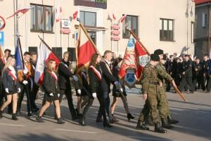 Uroczystości uczczenia 100-lecia odzyskania niepodległości w Pińczowie