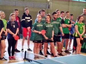 Turniej tenisa stołowego szkół rolniczych w Starym Lubiejewie
