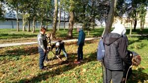 Inauguracja Święta Drzewa w Chrobrzu