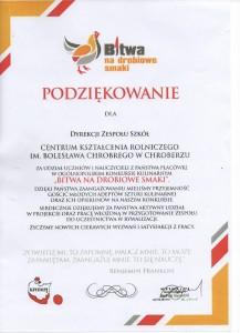 "Ogólnopolski Konkurs Kulinarny ""Bitwa na drobiowe smaki"""