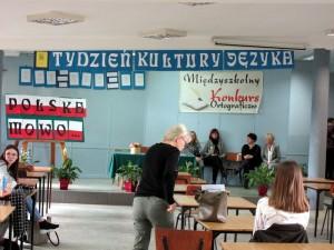 Udział w Międzyszkolnym Konkursie Ortograficznym